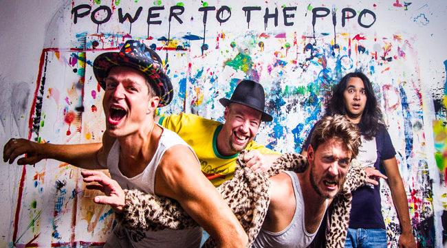 Pufferfish, de nieuwe funky clip van Power To The Pipo! 1