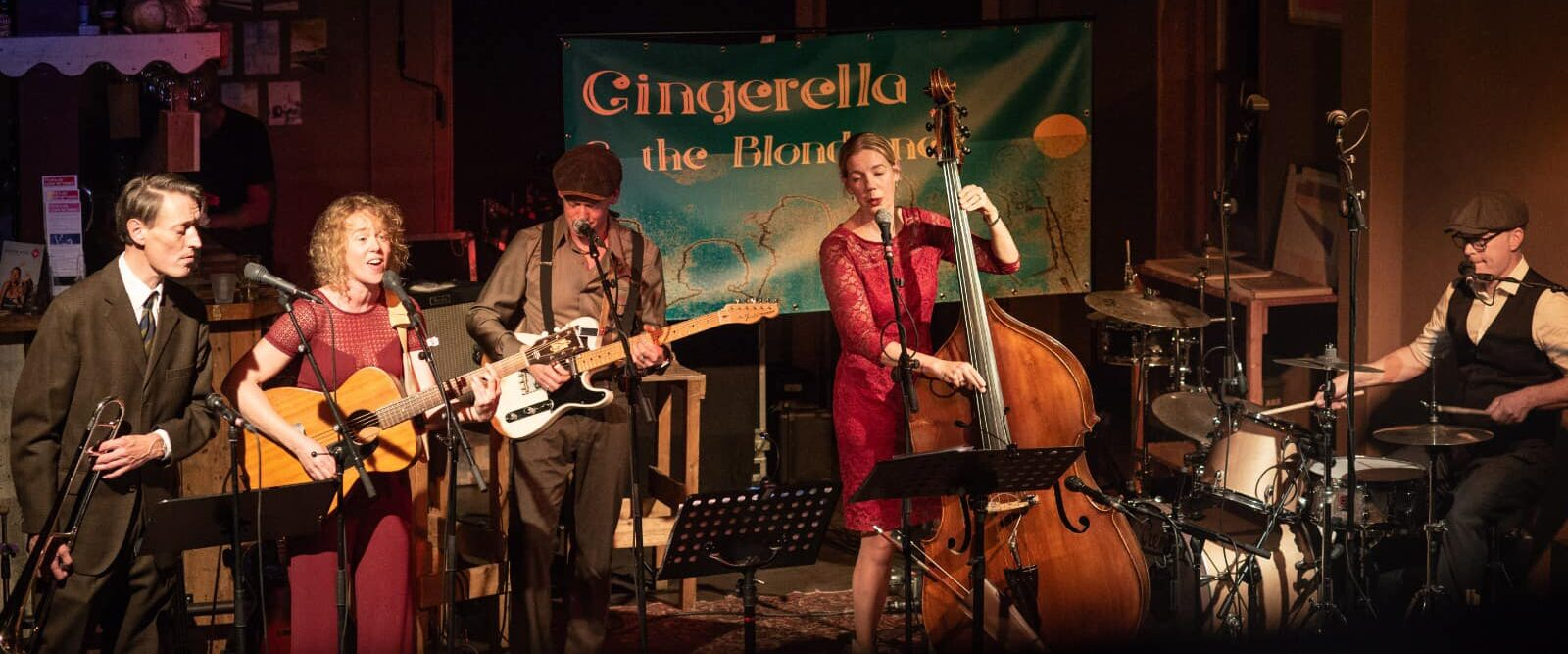 Gingerella & The Blondtones 2