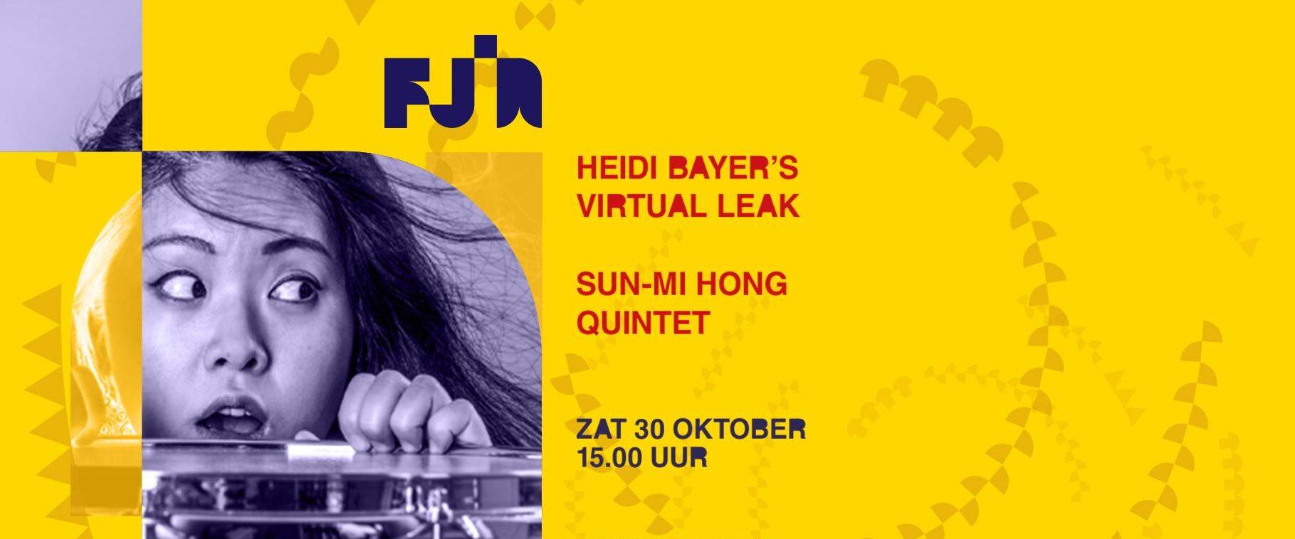 FJIN 2021 • Heidi Bayer • Sun-Mi Hong Quintet 2
