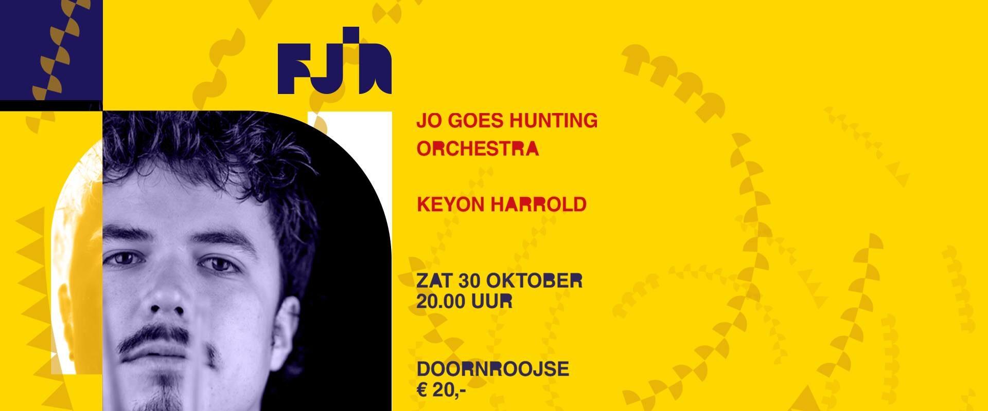 FJIN 2021 • Jo Goes Hunting Orchestra • Keyon Harrold 2